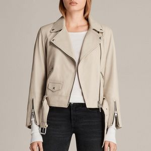 All Saints Cole Leather Jacket